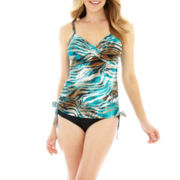 Trimshaper® Tankini Swim Top or Hipster Brief Bottoms