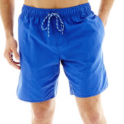 St. John's Bay® Nylon Swim Trunks