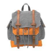Two-Tone Canvas Backpack