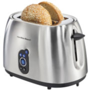Hamilton Beach® 2- Slice Stainless Steel Toaster with Digital Display