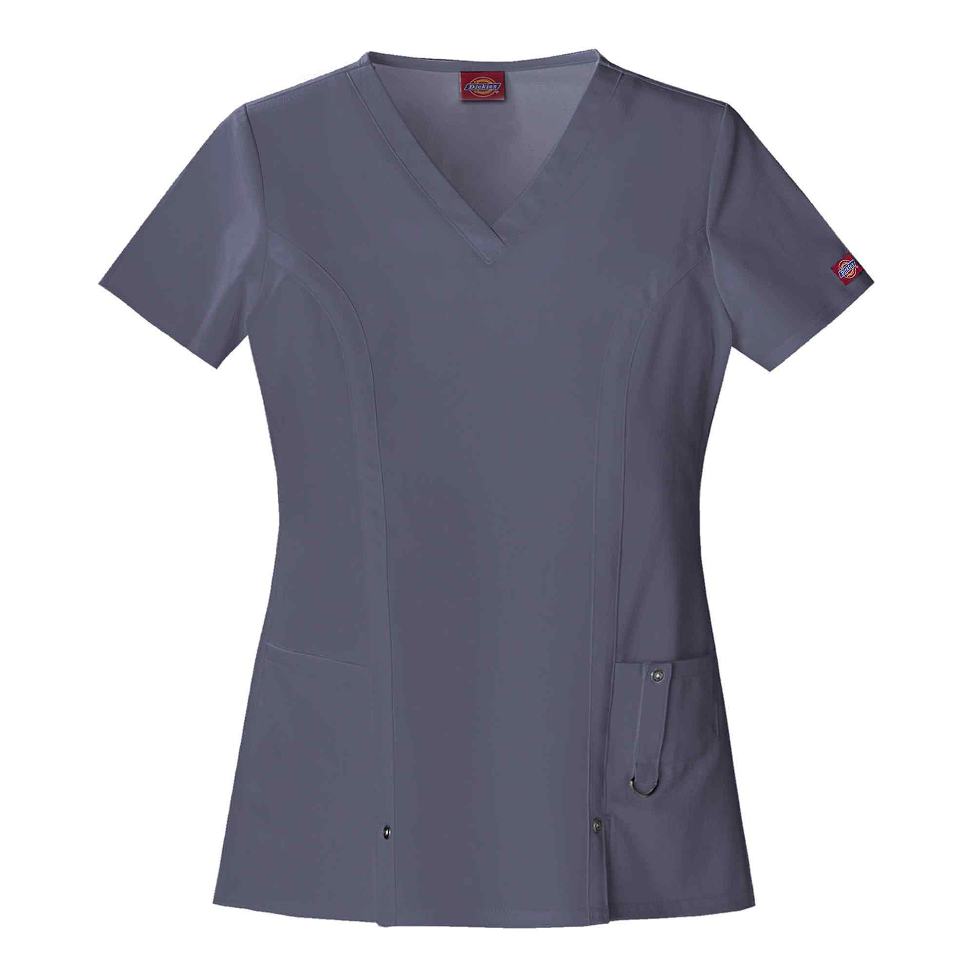 Dickies Womens V-Neck Scrub Top-Plus