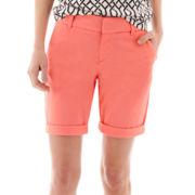 Stylus™ Twill Bermuda Shorts