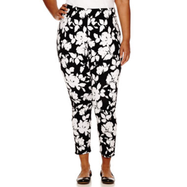 jcpenney.com | Mixit™ Print Knit Leggings - Plus