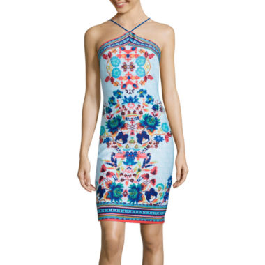 jcpenney.com | Bisou Bisou® Strappy Halter Bodycon Dress
