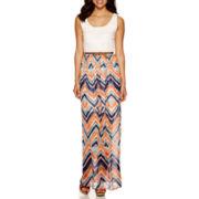 Luxology Crochet Top Maxi Dress