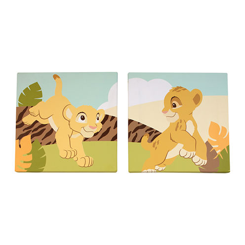 Disney Lion King 2-pc. Wall Art