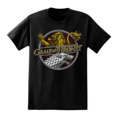 jcpenney.com | Game of Thrones Houses Short-Sleeve Graphic Tee
