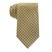 Stafford® Executive Natte Neat Silk Tie