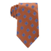 Stafford® Executive Floral Medallion Silk Tie