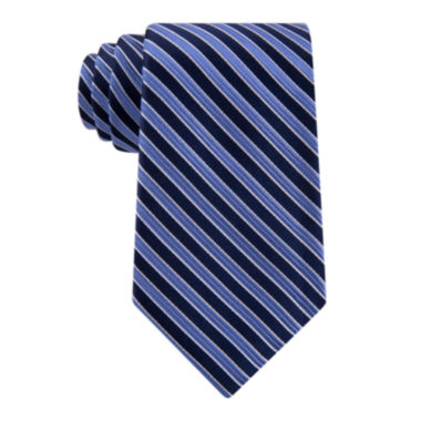 jcpenney.com | Stafford® Executive Thin Stripe Silk Tie