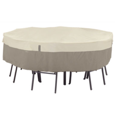 jcpenney.com | Classic Accessories® Belltown StorageSaver™ Large Round Table & 6-Chair Cover