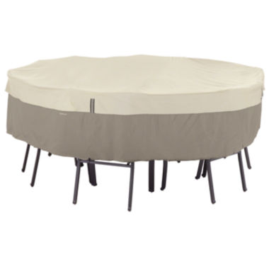 jcpenney.com | Classic Accessories® Belltown StorageSaver™ Medium Round Table & 6-Chair Cover