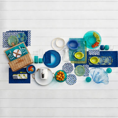 jcpenney.com | Outdoor Oasis™ Submerge Melamine Dinnerware Collection
