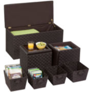 Honey-Can-Do® 7-pc. Ottoman Storage Set