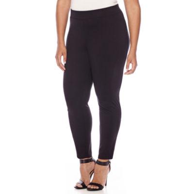 Boutique+ Cropped Leggings - Plus