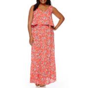 Boutique+ High-Low Hem Dress - Plus