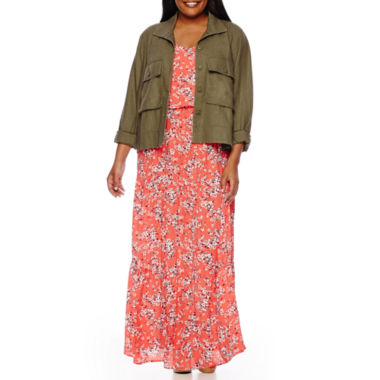 jcpenney.com | Boutique Military Jacket or High-Low Hem Dress