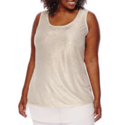 Worthington® Shine Tank Top - Plus