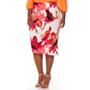 Worthington® Side-Zip Skirt - Plus