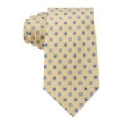 Stafford® Clayton Neat Silk Tie - Extra Long