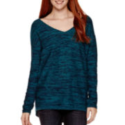 Arizona Long-Sleeve Marled Tunic