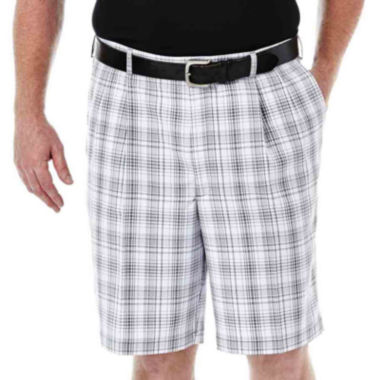jcpenney.com | Haggar® Cool 18® Flat-Front Shorts - Big & Tall
