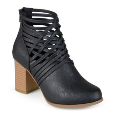 jcpenney.com | Journee Collection Alicia Open Strap Ankle Booties