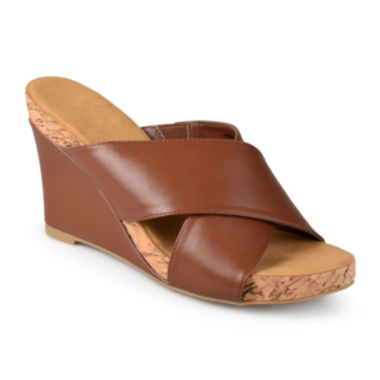 jcpenney.com | Journee Collection Sloan Wedge Sandals