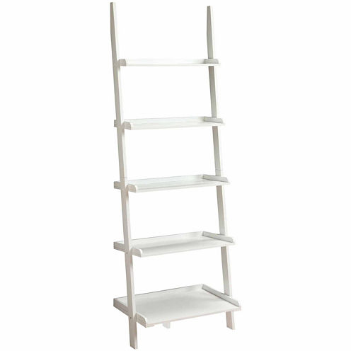 Delaney 5-Shelf Ladder Bookshelf