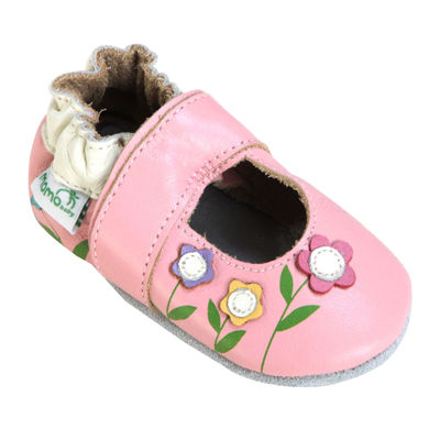 Momo Baby Lilies Mary Jane Girls Crib Shoes Baby JCPenney