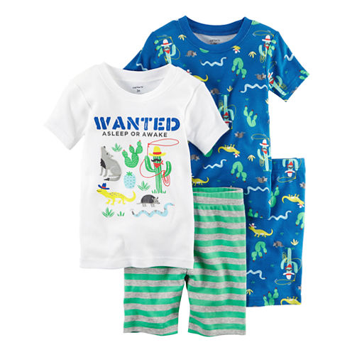 Carter's 4-pc. Pajama Set Boys