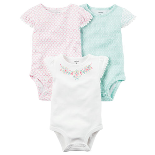 Carter's 3-pk. Bodysuit Set - Baby Girl