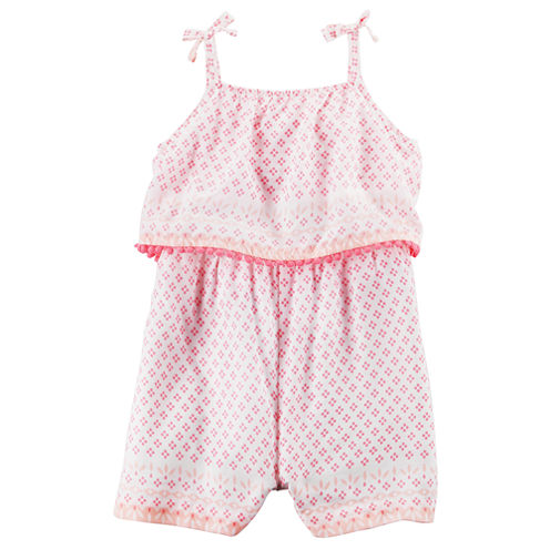Carter's Short Sleeve Romper - Baby Girl