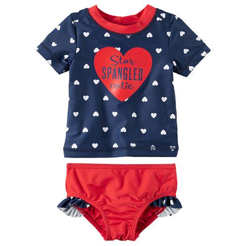 Carter's Girls Star Tankini Set - Baby