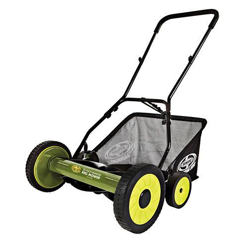 Sun Joe 20-Inch Manual Reel Mower with Grass Catcher