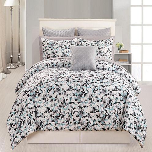 DUCK RIVER 10-pc. Ziya Kensie Quilted Comforter Set