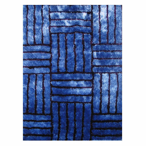 La Rugs Contempo Shaggy Viii Shag Rectangular Rugs