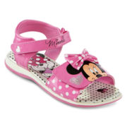 Disney® Minnie Mouse  Girls Sandals - Toddler