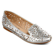 Cosmopolitan Mind Game Cutout Flats