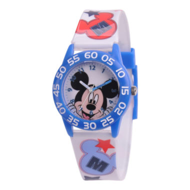 jcpenney.com | Disney Kids Time Teacher Mickey Mouse Easy-Read Watch