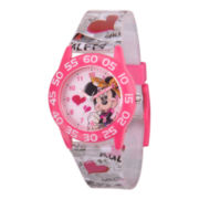 Disney Kids Minnie Mouse Easy-Read Watch