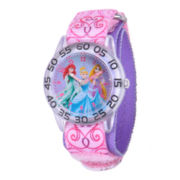 Disney Kids Princesses Easy-Read Fast Strap Watch