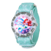 Disney Kids Ariel The Little Mermaid Easy-Read Fast Strap Watch