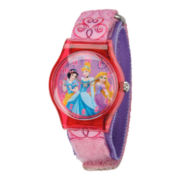Disney Kids Princesses Fast Strap Watch