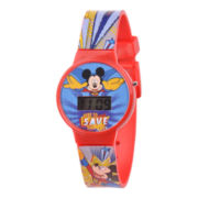 Disney Kids Mickey Mouse Digital LCD Watch