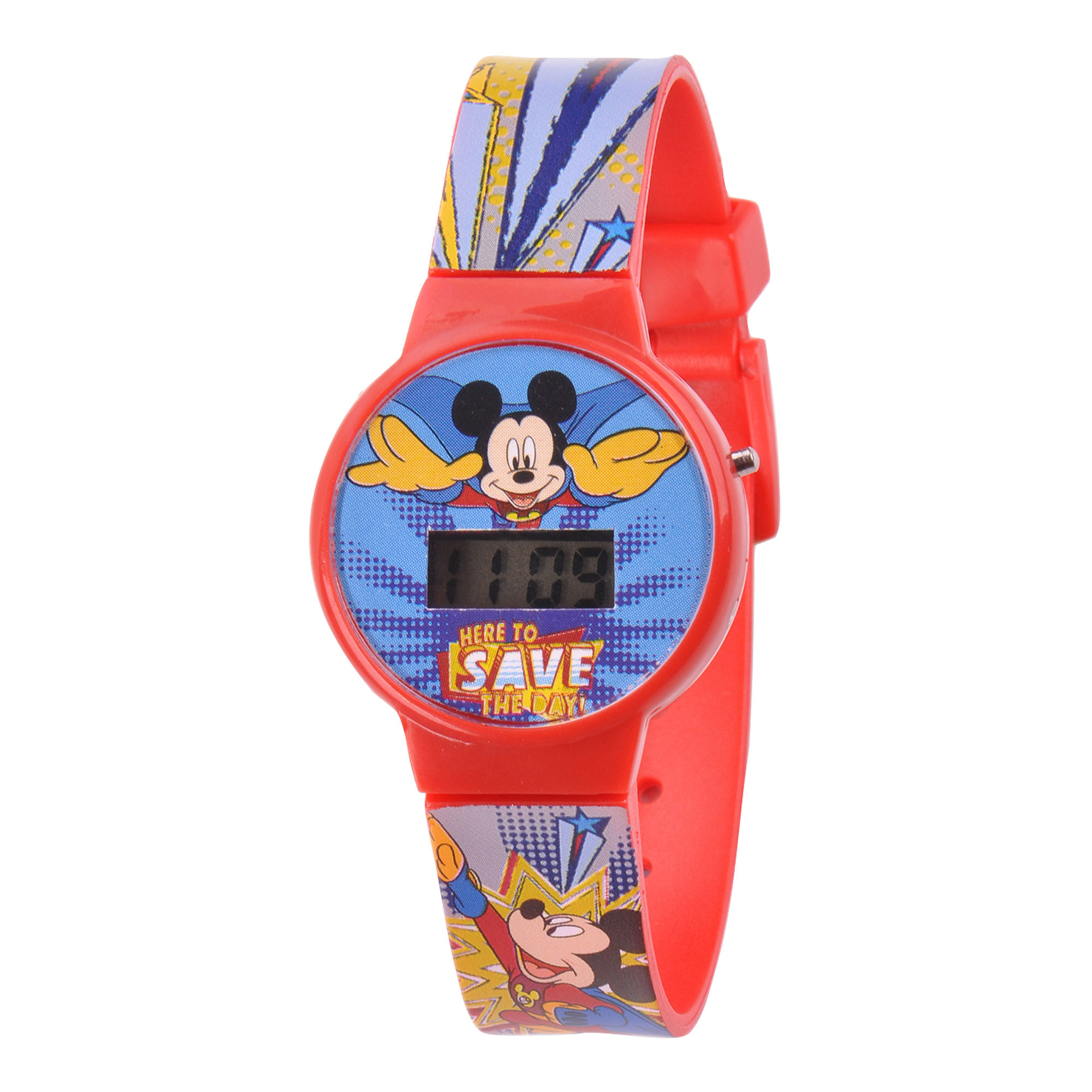 Disney Kids Mickey Mouse Digital LCD Watch