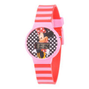 Disney Kids Minnie Mouse Digital LCD Watch