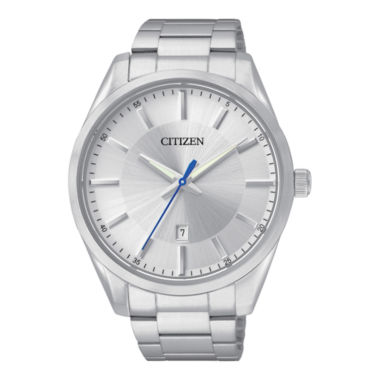 jcpenney.com | Citizen® Mens Silver-Tone Dial Stainless Steel Watch BI1030-53A