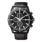 Citizen® Mens Black Stainless Steel Chronograph Watch AN3575-03E
