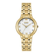 Citizen® Eco-Drive Bella Womens Diamond Stainless Steel Watch